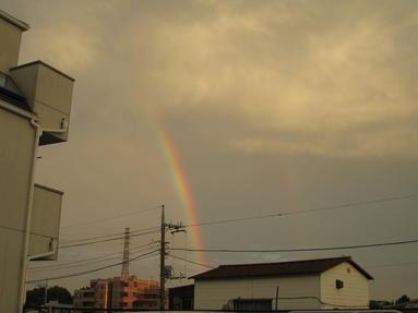 ☆ 虹 ・ Rainbow☆晴れ