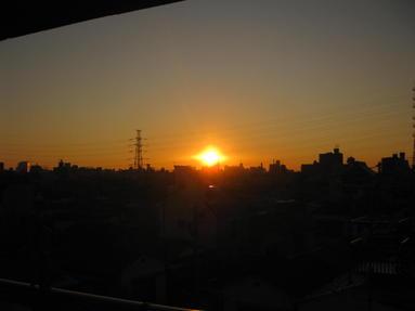 ☆真っ赤な 夕焼け☆